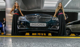 Stolichnoe-Automobilausstellung 2013 in Kiew Stockfotografie