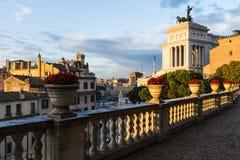 stolicy pejzaż miejski włoski Italy Rome Obraz Royalty Free