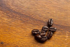stolik do kawy bobowy drewno Fotografia Stock