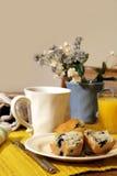 stolik na śniadanie obraz stock