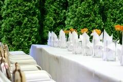 stolik na imprezę Obraz Stock