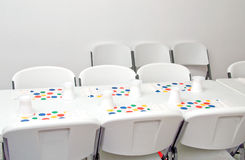 stolik na imprezę Obraz Royalty Free