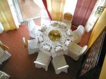 stolik w restauracji Zdjęcia Royalty Free