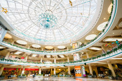 Stolitsa is a major shopping center in Minsk Royalty Free Stock Photography
