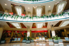 Stolitsa is a major shopping center in Minsk Royalty Free Stock Photos
