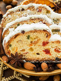 Stollen Royalty Free Stock Photography