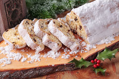 Stollen cake Royalty Free Stock Photos