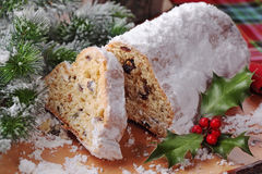 Stollen Cake Royalty Free Stock Images