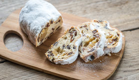 Stollen cake Royalty Free Stock Photo