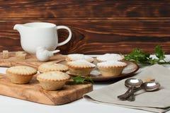Stollen De traditionele Pastei van de Kerstmismarsepein Royalty-vrije Stock Foto's