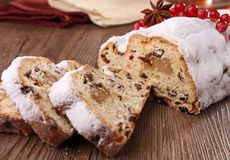Stollen fruit Royalty Free Stock Image