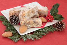 Stollen Slices Stock Images