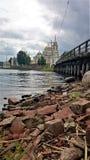 stolobensky修道院的nilo 尼罗Stolobensky修道院位于特维尔州地区,湖Seliger,俄罗斯 库存照片