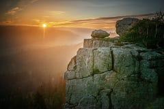 Stolowe Mountains National Park. In Kudowa-Zdroj, Poland Stock Photos