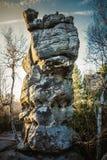 Stolowe Mountains National Park. In Kudowa-Zdroj, Poland Royalty Free Stock Photos