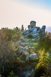 Stolowe Mountains National Park. In Kudowa-Zdroj, Poland Royalty Free Stock Image