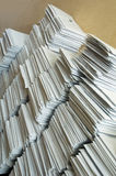 stolpe för kuvertpapper Royaltyfria Bilder