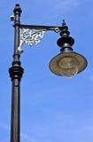 Stolpe för tappningLondon lampa Arkivfoton