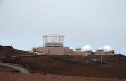 Stolpe för telekom för USA-flygvapen i Hawaii Royaltyfri Bild