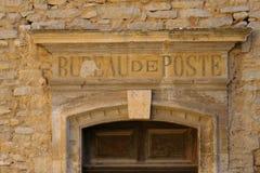 Stolpe - kontor i Provence Arkivfoton