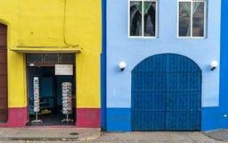 Stolpe - kontor i Trinidad arkivbilder