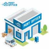 Stolpe - kontorsbyggnad stock illustrationer