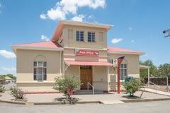 Stolpe - kontorsbyggnad i Jagersfontein Royaltyfria Bilder
