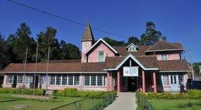 Stolpe - kontorsbyggnad i staden av Nuwara Eliya Royaltyfri Foto
