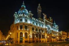 Stolpe - kontorsbyggnad, Valencia, Spanien Royaltyfri Fotografi