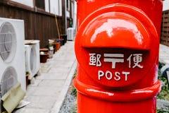 Stolpeask för japansk stil fotografering för bildbyråer