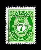 Stolpehorn, serie, circa 1941 Royaltyfri Fotografi