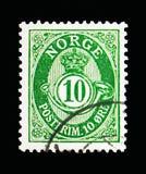 Stolpehorn, serie, circa 1921 Royaltyfri Fotografi
