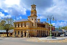 Stolpen - kontor, Beechworth, Victoria, Australien Royaltyfri Foto