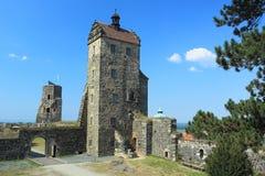Stolpen-Schloss Stockbild