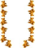Stolpernde Teddybären Lizenzfreie Stockbilder