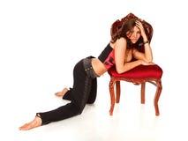 stolskvinna Royaltyfri Fotografi