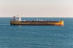 Χημική ουσία/βυτιοφόρο Stolt Calluna προϊόντων πετρελαίου στο λιμένα εν λόγω, Αίγυπτος στοκ εικόνες με δικαίωμα ελεύθερης χρήσης