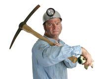 stolt gruvarbetare Arkivfoton