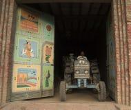 Stolt indisk bonde Arkivbilder