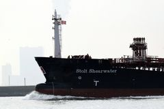The Stolt Shearwater, STOLT SHEARWATER, a Chemical/Oil Products Tanker vessel stock photos