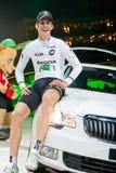 stolt vinnare för bilmarvulli royaltyfria foton