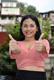 Stolta ungdomliga Filipina Person arkivfoton