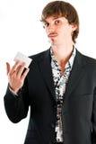 Stolz auf Unternehmenskarte Lizenzfreie Stockfotos