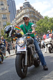 Stolz mit 2010 Homosexuellen in Paris Frankreich Stockbilder