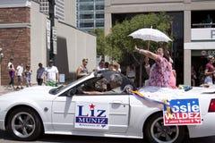 Stolz-Parade, 3. Juni 2012. Salt Lake City, Utah lizenzfreie stockbilder