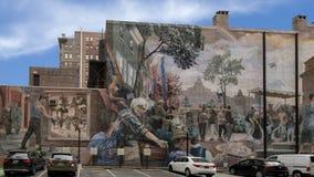 ` Stolz und Fortschritt ` durch Ann Northrup, Philadelphia, Pennsylvania lizenzfreies stockbild