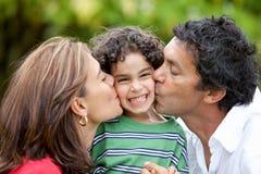 Stolze Muttergesellschaft Lizenzfreies Stockfoto