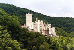 Stolzenfels Castle at the River Rhine Stock Photography