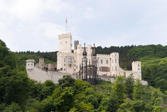 Stolzenfels Castle at the River Rhine Royalty Free Stock Photo