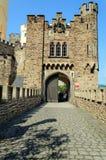 Stolzenfels-Schloss, das Rhein-Tal, Deutschland lizenzfreie stockbilder